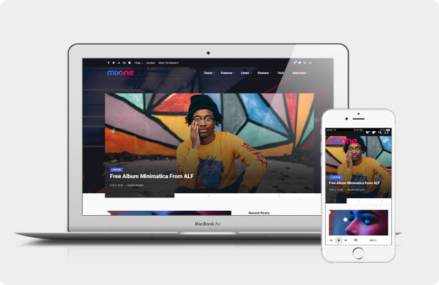 Mixone WordPress Theme - Live Preview